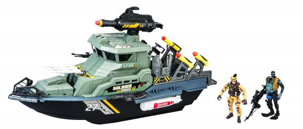 NAVE LANCIAMISSILI TOYS CENTER Maschio 12-36 Mesi, 12+ Anni, 8-12 Anni SOLDIER FORCE9