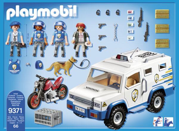 FURGONE PORTAVALORI - Playmobil - City Action - Toys Center - PLAYMOBIL - CITY ACTION - Altri giochi per l'infanzia