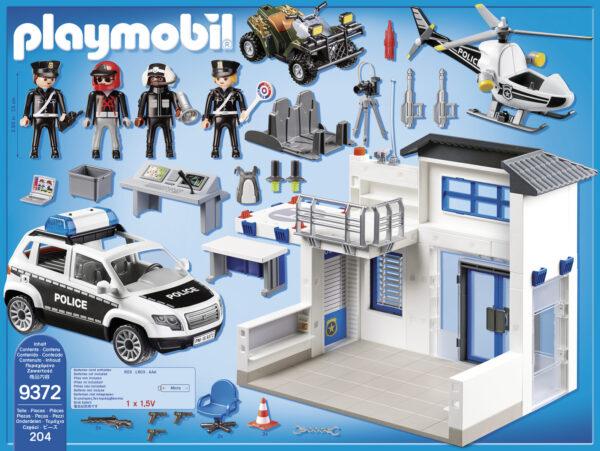 CENTRALE DELLA POLIZIA - Playmobil - City Action - Toys Center ALTRI Maschio 12+ Anni, 3-5 Anni, 5-8 Anni, 8-12 Anni PLAYMOBIL - CITY ACTION