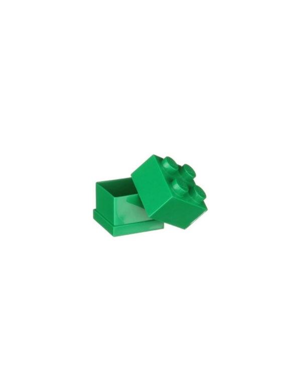 Contenitore LEGO Mini Box 4 Verde - Licenza Lego - LEGO - Marche ALTRO Unisex 12-36 Mesi, 12+ Anni, 3-5 Anni, 5-8 Anni, 8-12 Anni ALTRI