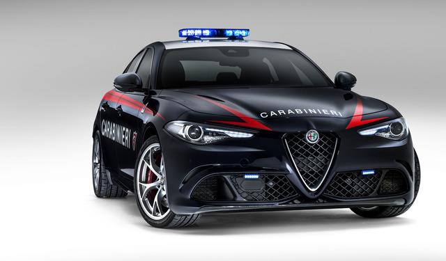 Alfa romeo giulia carabinieri - RE.EL TOYS SPA