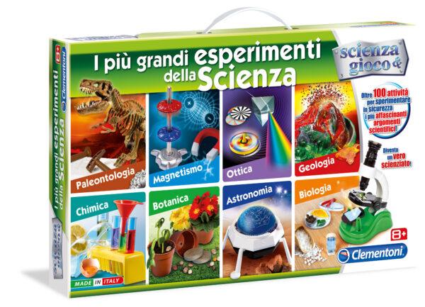 Più Grandi Esperimenti Scienza - Focus / Scienza&gioco - Toys Center FOCUS / SCIENZA&GIOCO Unisex 8-12 Anni ALTRI