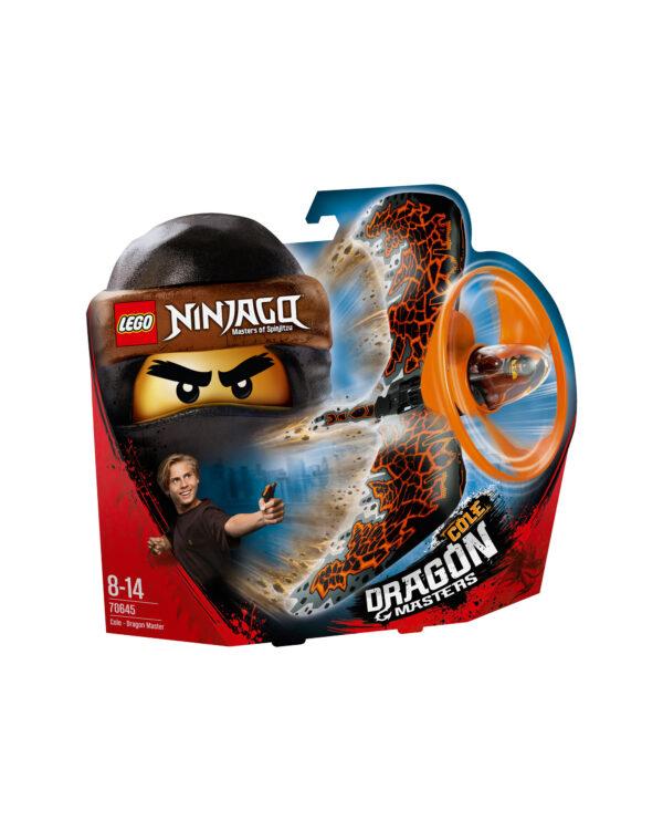 70645 - Cole - Maestro dragone - Lego Ninjago - Toys Center LEGO NINJAGO Unisex 12+ Anni, 5-8 Anni, 8-12 Anni ALTRI