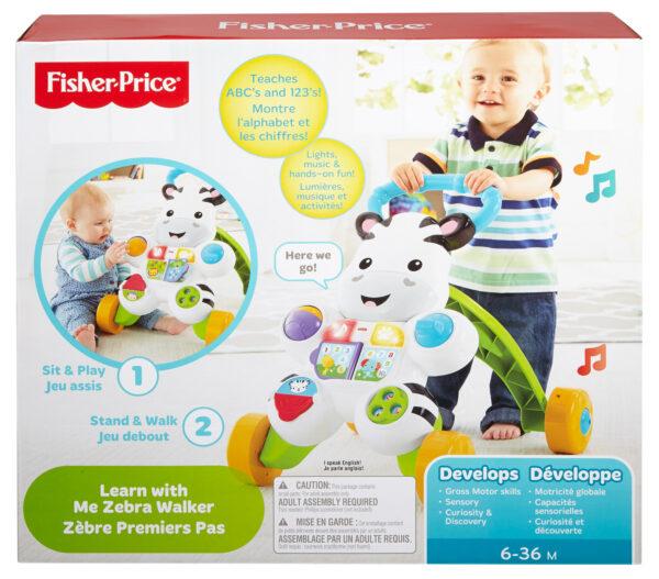 Zebra primi passi - Fisher-price - Toys Center ALTRI Unisex 0-12 Mesi, 0-2 Anni, 12-36 Mesi, 3-4 Anni, 3-5 Anni FISHER-PRICE