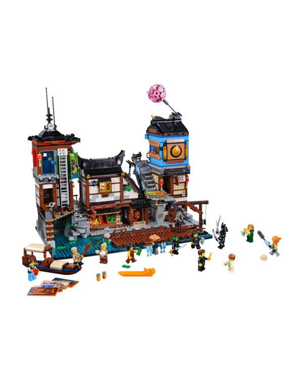 LEGO NINJAGO ALTRI 70657 - Porto di NINJAGO® City Unisex 12+ Anni, 8-12 Anni