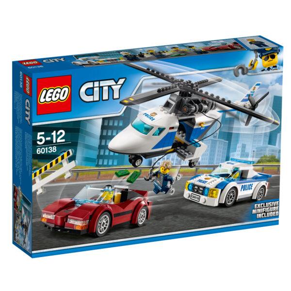 60138 - Inseguimento ad alta velocità - Lego City - Toys Center LEGO CITY Maschio 5-7 Anni, 8-12 Anni ALTRI