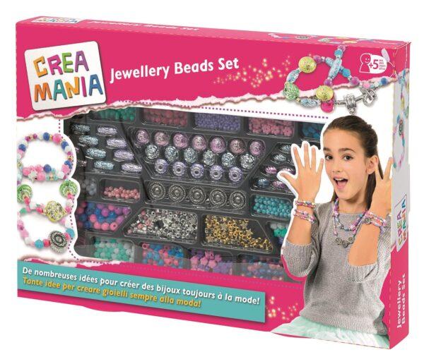 CREAMANIA  JEWELLERY BEADS SET CREAMANIA GIRL Femmina 12+ Anni, 3-5 Anni, 5-8 Anni, 8-12 Anni ALTRI