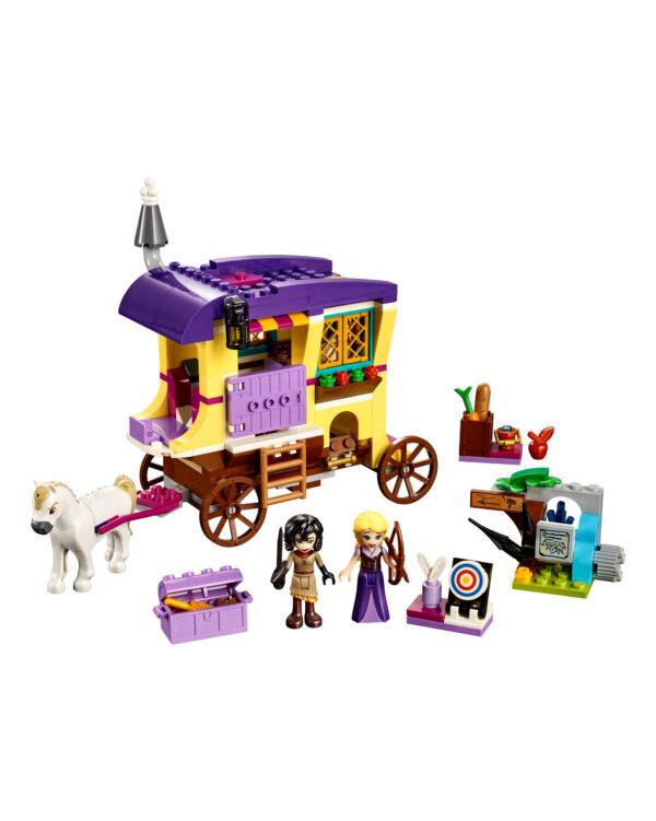 41157 - Il caravan di Rapunzel - Disney Princess - Toys Center PRINCIPESSE DISNEY Unisex 12+ Anni, 5-8 Anni, 8-12 Anni DISNEY PRINCESS