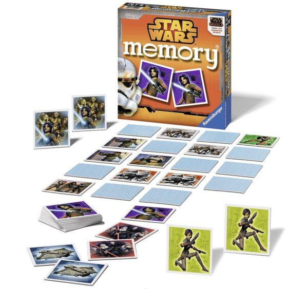 Disney Star Wars Memory® Star Wars Maschio 3-4 Anni, 3-5 Anni, 5-7 Anni, 5-8 Anni, 8-12 Anni