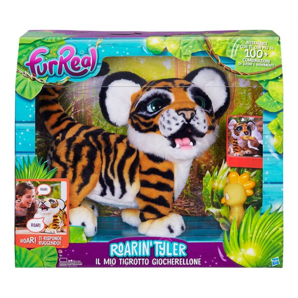 Tigrotto Tyler - Fur Real - Toys Center FUR REAL Femmina 12+ Anni, 3-5 Anni, 5-8 Anni, 8-12 Anni ALTRI