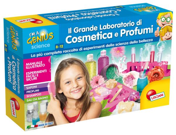 I'm a genius il grande laboratorio di cosmetica e profumi I'M A GENIUS Femmina 5-8 Anni, 8-12 Anni ALTRI