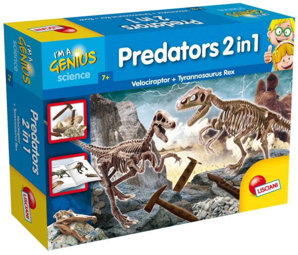 I'm a genius grandi predatori 2 in 1 I'M A GENIUS Unisex 5-7 Anni, 5-8 Anni, 8-12 Anni ALTRI