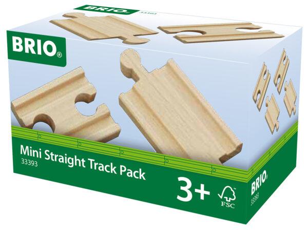 BRIO pacchetto binari mini dritti BRIO Unisex 12-36 Mesi, 3-4 Anni, 3-5 Anni, 5-7 Anni, 5-8 Anni ALTRI