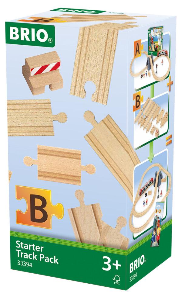 BRIO pacchetto starter - BRIO Binari - BRIO railway - BRIO - Linee BRIO Unisex 12-36 Mesi, 3-5 Anni, 5-8 Anni ALTRI