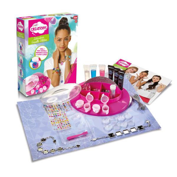 Laboratorio dei Gioielli Glitter Crayola Creations ALTRI Femmina 12+ Anni, 5-8 Anni, 8-12 Anni ALTRO