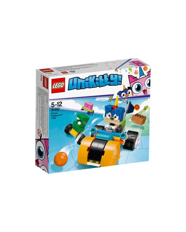 41452 - Il triciclo di Prince Puppycorn™ LEGO UNIKITTY Unisex 12+ Anni, 3-5 Anni, 5-8 Anni, 8-12 Anni ALTRI