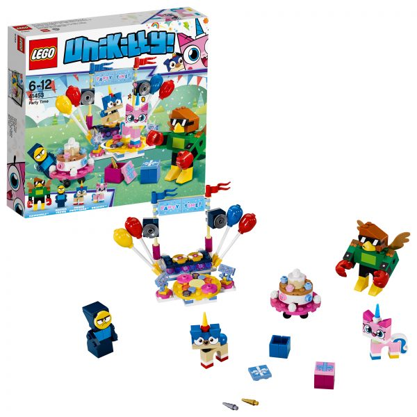 41453 - Party Time LEGO UNIKITTY Unisex 12+ Anni, 5-8 Anni, 8-12 Anni ALTRI