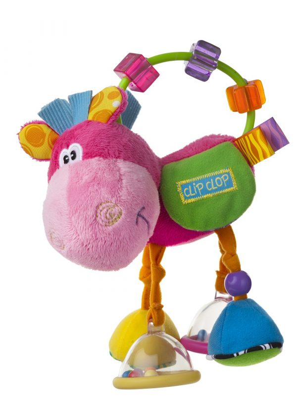 Toy Box Clopett Act Rattle Pin - PLAYGRO - Marche ALTRO Femmina 0-12 Mesi, 12-36 Mesi, 3-5 Anni ALTRI