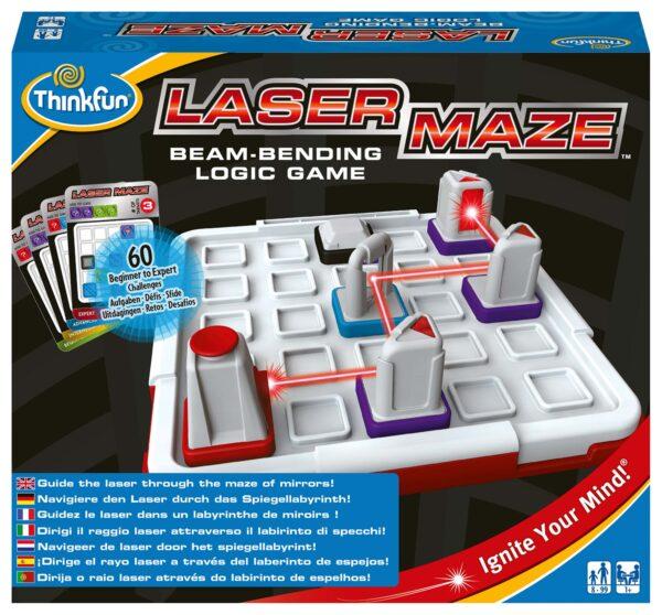 Laser Maze - ThinkFun - Thinkfun - Toys Center THINKFUN Unisex 12+ Anni, 5-8 Anni, 8-12 Anni ALTRI