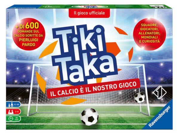 Tiki Taka Il calcio è il nostro gioco - Gioco di società Ravensburger 26791 RAVENSBURGER CLASSIC Unisex 12+ Anni, 8-12 Anni ALTRI