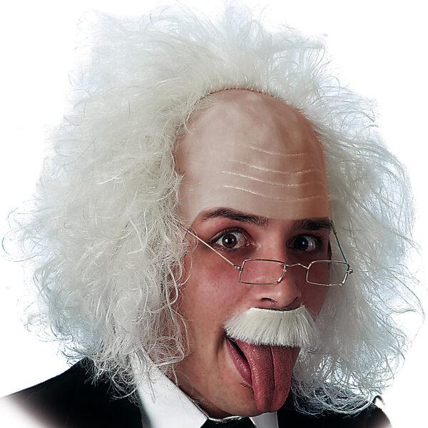 Parrucca Einstein con calotta in lattice ALTRO Unisex 12+ Anni ALTRI