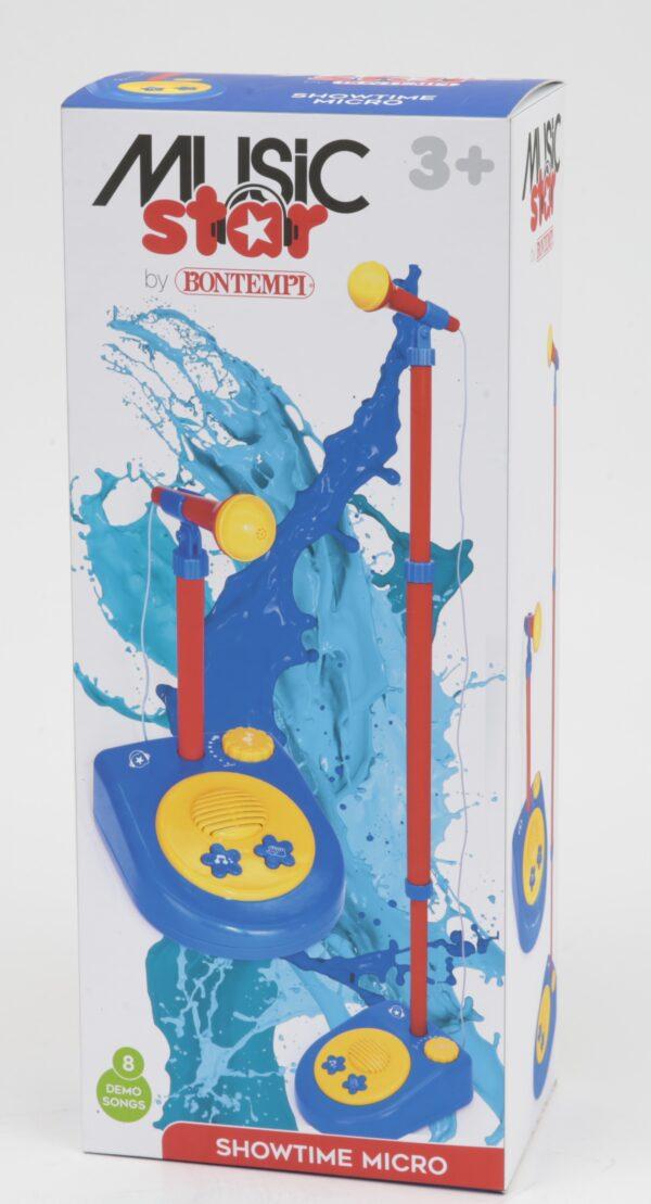 Microfono con asta MUSICSTAR Unisex 12-36 Mesi, 12+ Anni, 3-4 Anni, 3-5 Anni, 5-7 Anni, 5-8 Anni, 8-12 Anni MUSIC STAR
