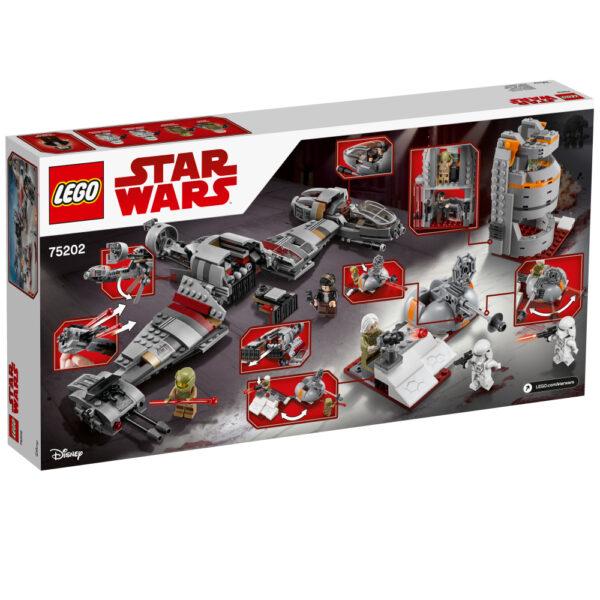 LEGO STAR WARS - Difesa di Crait™ - 75202 Star Wars Maschio 12+ Anni, 8-12 Anni Disney