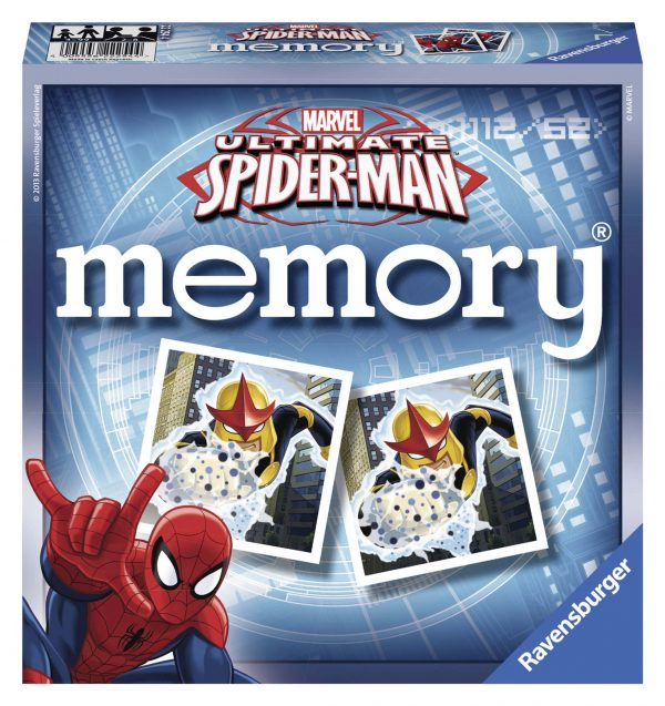 memory® Ultimate SpiderMan - Ravensburger - Memory - Toys Center MEMORY Unisex 12+ Anni, 8-12 Anni Spiderman