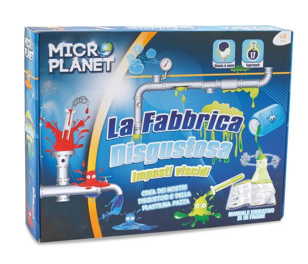 MICRO PLANET La fabbrica disgustosa MICROPLANET Unisex 5-8 Anni, 8-12 Anni ALTRI