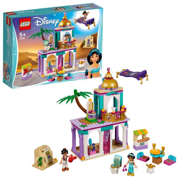 41161 - Le avventure nel palazzo di Aladdin e Jasmine - Disney Princess - Toys Center DISNEY PRINCESS Unisex 12+ Anni, 3-5 Anni, 5-8 Anni, 8-12 Anni PRINCIPESSE DISNEY