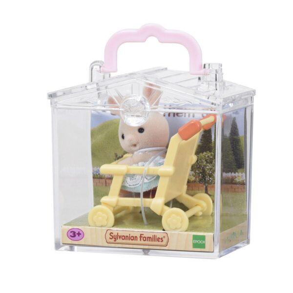 Bebè coniglio/passeggino - SYLVANIAN FAMILIES - Playset e accessori per personaggi d'azione