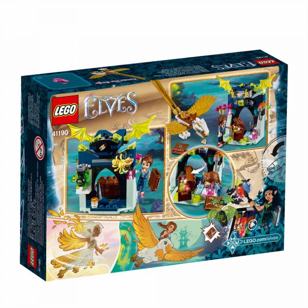LEGO ELVES ALTRI 41190 - La fuga sull'aquila di Emily Jones - Lego Elves - Toys Center Femmina 12+ Anni, 5-8 Anni, 8-12 Anni