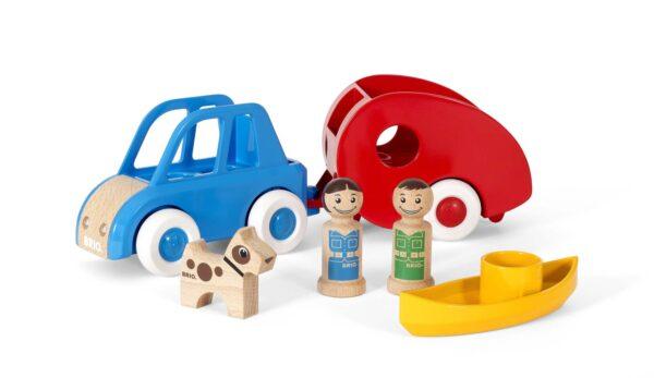 BRIO Set Campeggio - Brio My Home Town - Toys Center BRIO MY HOME TOWN Unisex 12-36 Mesi, 3-5 Anni, 5-8 Anni, 8-12 Anni ALTRI