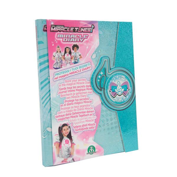 Giochi Preziosi - Miracle Tunes Diario Segreto - Altro - Toys Center ALTRO Femmina 3-5 Anni, 5-8 Anni, 8-12 Anni ALTRI