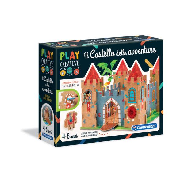 PLAY CREATIVE - IL CAST. DELLE AVVENTURE PLAY CREATIVE Unisex 3-5 Anni, 5-8 Anni ALTRI