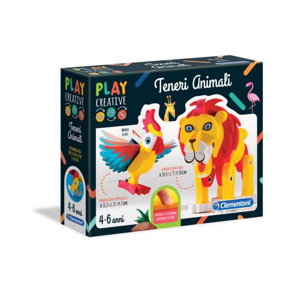 PLAY CREATIVE - GLI ANIMALI DELLA SAVANA PLAY CREATIVE Unisex 3-5 Anni, 5-8 Anni ALTRI