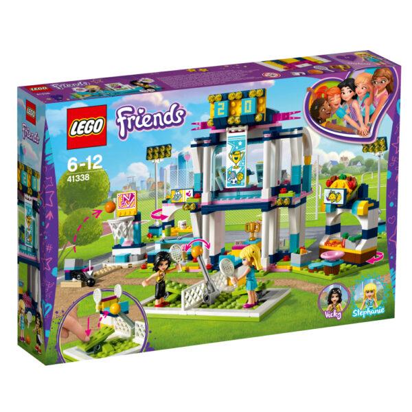 LEGO Friends  - L'arena sportiva di Stephanie - 41338 LEGO FRIENDS Femmina 12+ Anni, 5-8 Anni, 8-12 Anni ALTRI