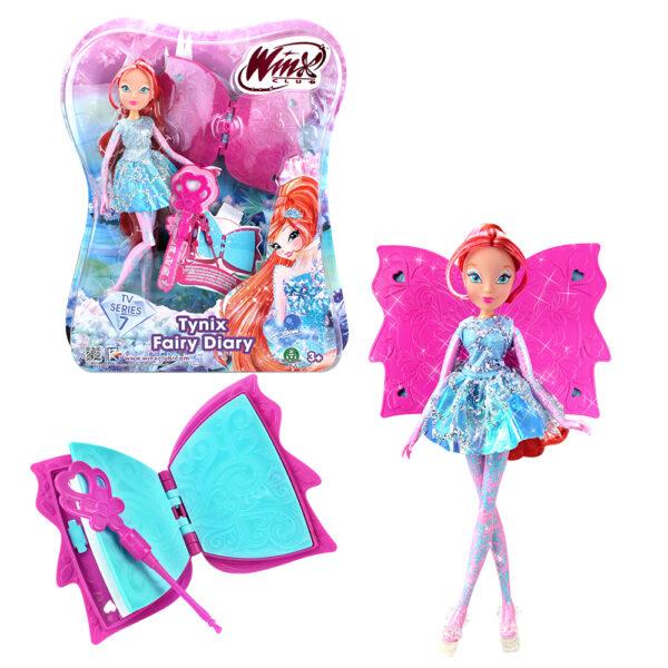 Giochi Preziosi - Winx Tynix Bloom Fairy Diary, con Diario e Scettro ALTRO Femmina 12-36 Mesi, 3-5 Anni, 5-8 Anni, 8-12 Anni ALTRI