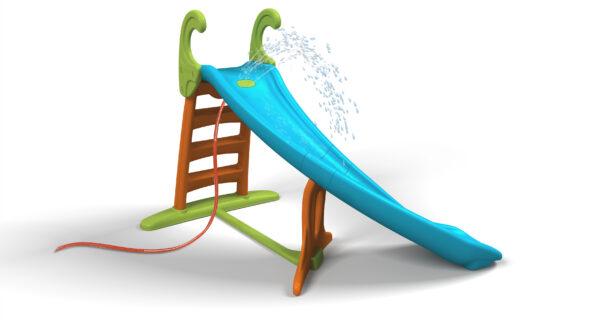 Scivolo Feber Con Curva - Feber - Toys Center FEBER Unisex 12-36 Mesi, 3-4 Anni, 3-5 Anni, 5-7 Anni, 5-8 Anni ALTRI