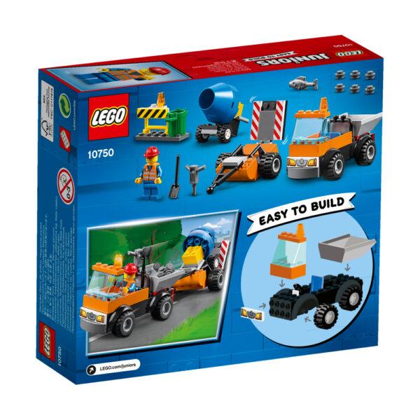 LEGO JUNIORS ALTRI 10750 - Camion della manutenzione stradale - Lego Nuovi Arrivi - LEGO - Marche Maschio 3-5 Anni, 5-8 Anni