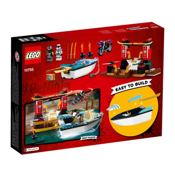 10755 - Zane e l'inseguimento della barca Ninja - Lego Juniors - Toys Center - LEGO JUNIORS - Costruzioni