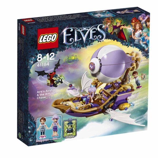 41184 - La barca volante di Aira e l'inseguimento dell'amuleto - Lego Elves - Toys Center - LEGO ELVES - Costruzioni