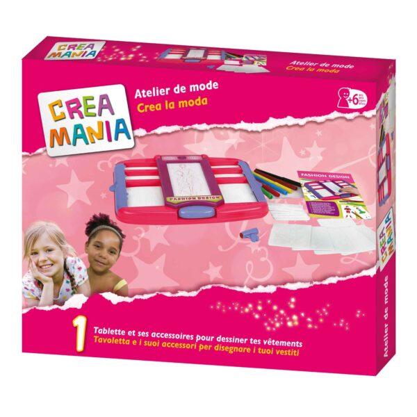 CREAMANIA Disegna i tuoi vestiti CREAMANIA GIRL Femmina 3-5 Anni, 5-8 Anni ALTRI