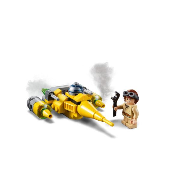 75223 - Microfighter Naboo Starfighter™ - DISNEY - DISNEY - Marche Star Wars Unisex 12+ Anni, 5-8 Anni, 8-12 Anni Disney