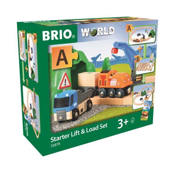 BRIO Starter Set carica e trasporta - Brio Set Ferrovia - Toys Center ALTRI Unisex 12-36 Mesi, 3-5 Anni, 5-8 Anni, 8-12 Anni BRIO SET FERROVIA