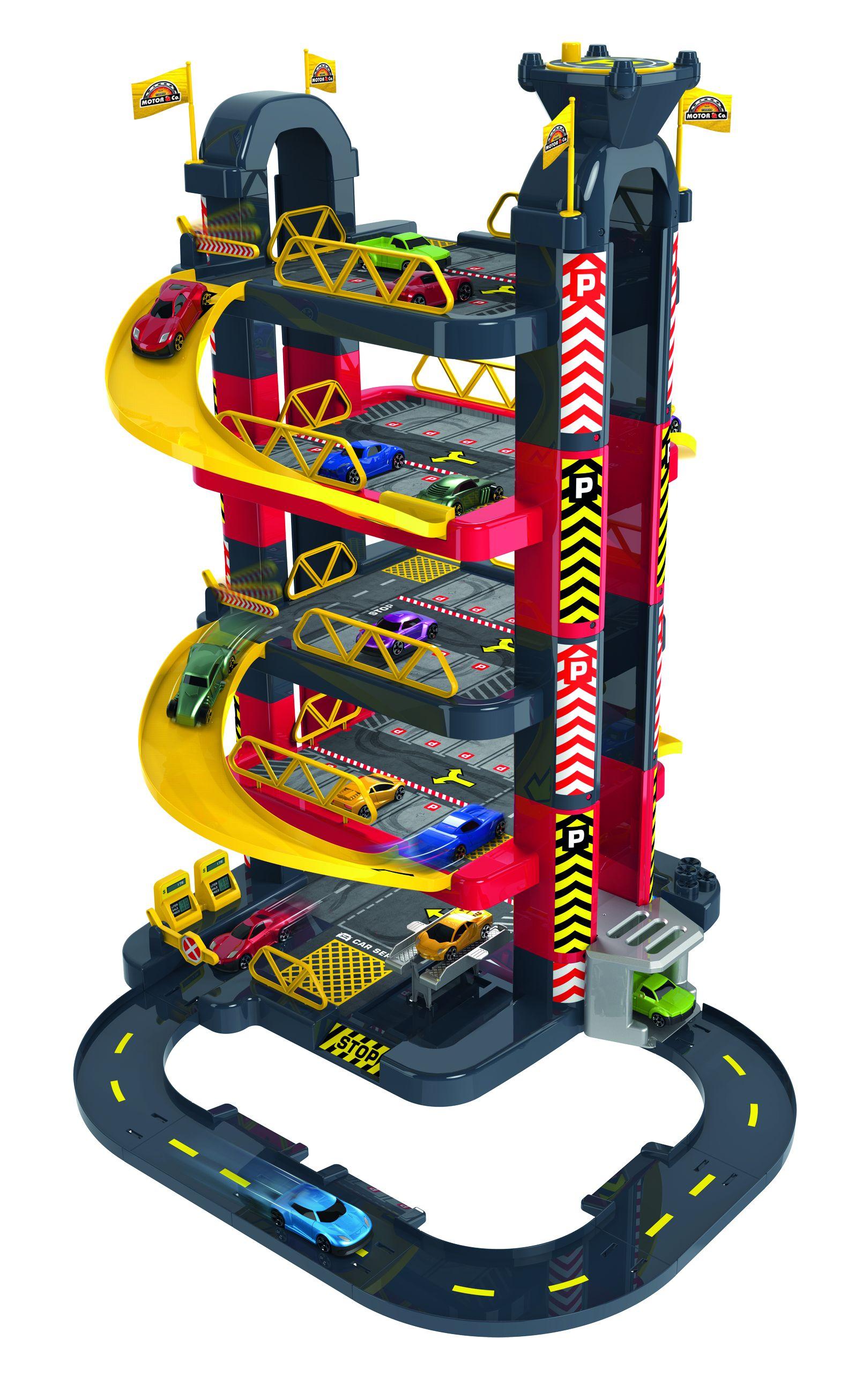 GARAGE SERVICE 5 PIANI - Altro - Toys Center