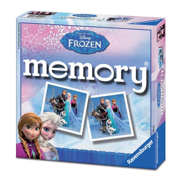 MEMORY FROZEN Disney Unisex 3-4 Anni, 3-5 Anni, 5-7 Anni, 5-8 Anni, 8-12 Anni Disney Frozen