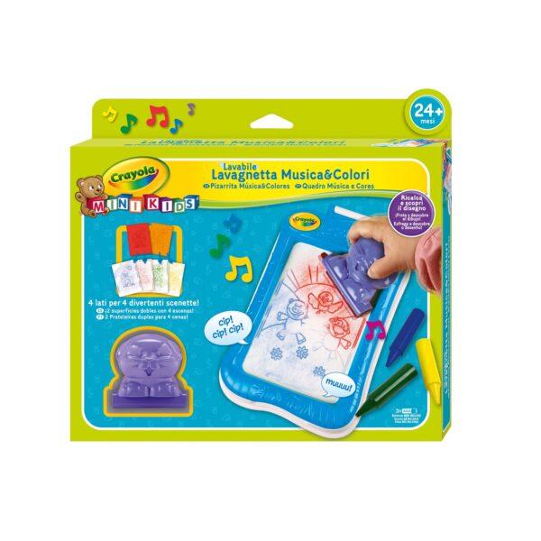 Lavagnetta Musica&Colori Mini Kids - Altro - Toys Center CRAYOLA Unisex 12-36 Mesi, 3-5 Anni, 5-8 Anni ALTRI
