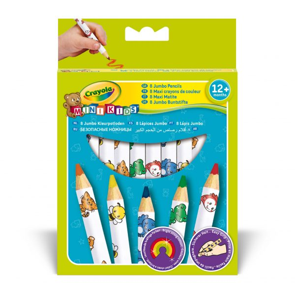 8 Maxi Matite colorate Crayola MiniKids - Altro - Toys Center ALTRO Unisex 0-12 Mesi, 12-36 Mesi, 12+ Anni, 3-5 Anni, 5-8 Anni, 8-12 Anni ALTRI