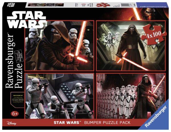 Bumper pack Star Wars 4x100 - Disney - Toys Center Disney Unisex 12-36 Mesi, 3-5 Anni, 5-7 Anni, 5-8 Anni, 8-12 Anni Star Wars